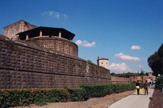 Outer wall of Fortress