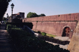 Exterior Wall of Fortress